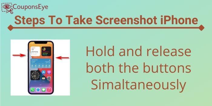 Take Screenshot on iPhone 12