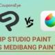 Clip Studio Paint vs Medibang Paint-www.couponseye.com
