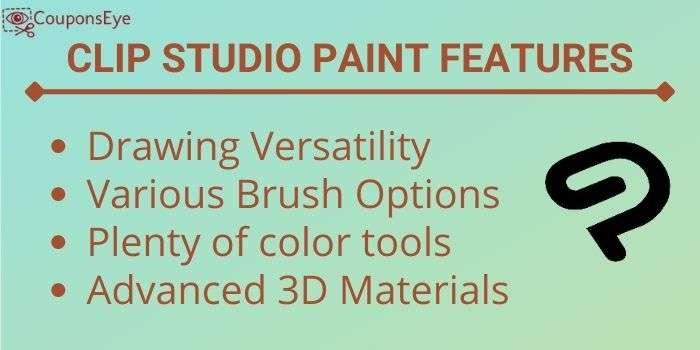 Clip Studio Paint Vs Photoshop Features