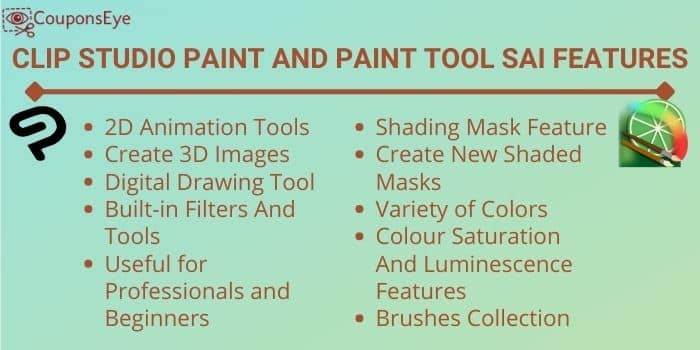 Clip Studio Paint vs. Paint Tool SAI